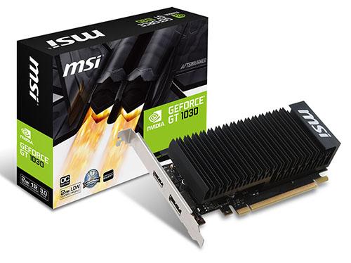 NVIDIA présente la GeForce GT 1030 pour les petits budgets