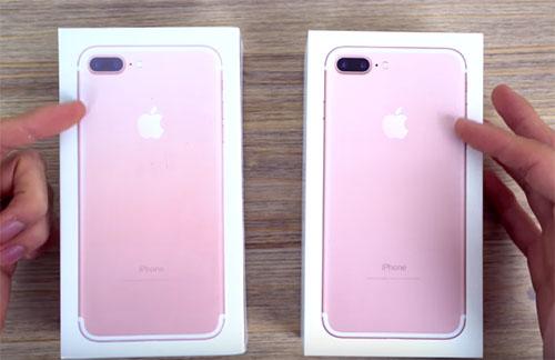 Attention : il y a des contrefaçons d'iPhone 7 très ressemblantes qui circulent…