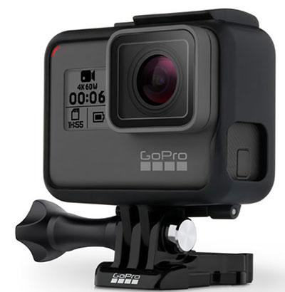 GoPro officialise la GoPro HERO6 Black et la caméra sphérique Fusion (maj)