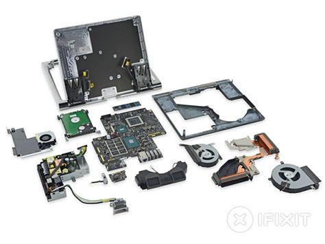 iFixit démonte la Surface Studio et lui donne un 5 sur 10