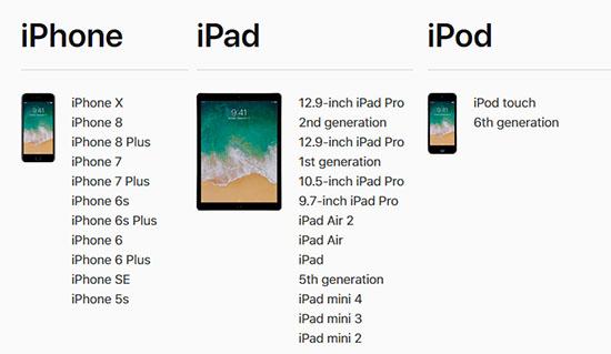 iOS 11 sera disponible la semaine prochaine : le 19 septembre