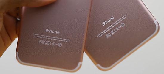Deux vidéos des prototypes d'iPhone 7 et 7 Plus