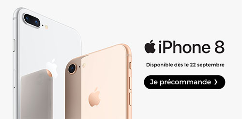Les iPhone 8 et iPhone 8 Plus sont disponibles à la vente !