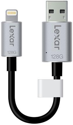 Lexar présente la JumpDrive C25i : une clé avec connecteurs USB 3.0 et Lightning
