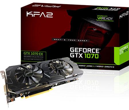 Elle vaut quoi la GeForce GTX 1070 EX de KFA2 ?