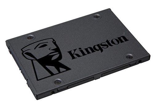 Bon Plan : les SSD Kingston A400 de 120, 240 et 480 Go à 23€, 36€ et 84€