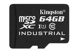 Kingston dévoile une carte micro SD destinée à l'industrie