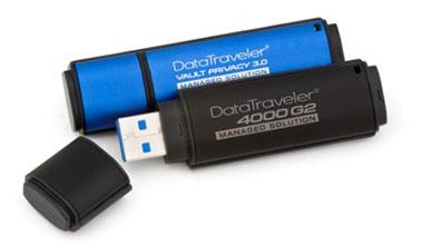 Deux nouvelles clés USB 3.0 sécurisées chez Kingston !