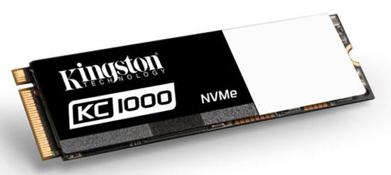 Kingston présente le KC1000 : un SSD M.2. NVMe très rapide…