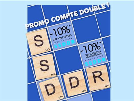 Bon Plan : 10% de remise sur les SSD et la DDR chez LDLC !
