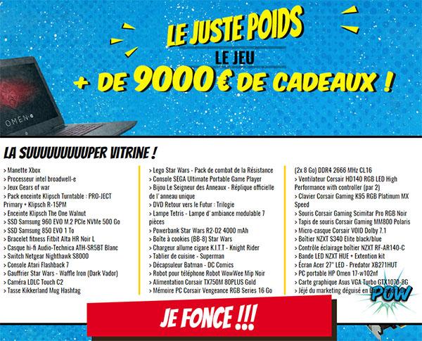 Jeu concours LDLC : 9.000 euros de matériel à gagner en trouvant le juste poids