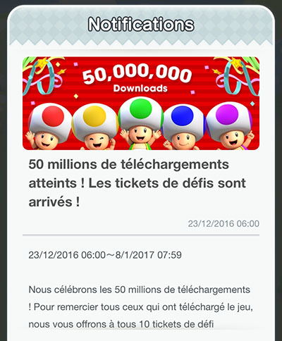 Super Mario Run : 50 millions de téléchargements sur iOS, la version Android arrive…