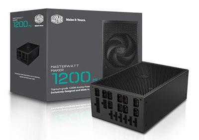 Une alimentation hors norme chez CoolerMaster : 1200 Watts pour 999 euros !
