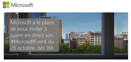 La conférence de Microsoft sera retransmise en direct demain dès 16 heures