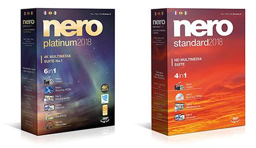 La suite multimédia Nero 2018 est arrivée…