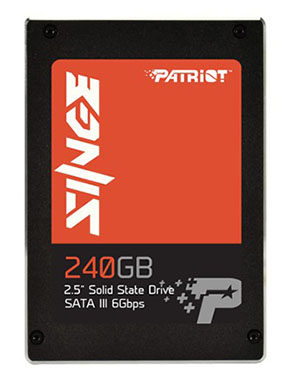 Deux nouveaux SSD chez Patriot : le Singe (SATA) et le Spark (USB 3.0)