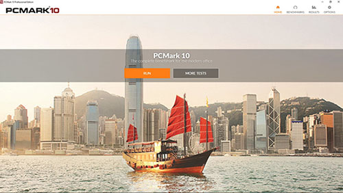 Le benchmark PCMark10 de FutureMark est disponible en téléchargement