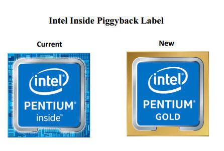 Place aux processeurs Pentium Gold !