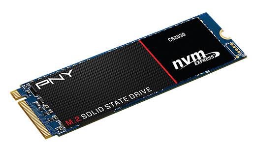 PNY lance un SSD très performant : le CS2030 au format M.2. NVMe