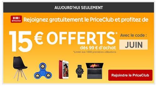 Bon Plan : Priceminister offre aujourd'hui 15 euros de remise