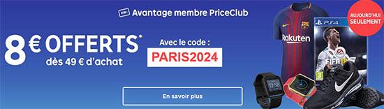 Bon Plan : Priceminister vous offre 8 euros de remise