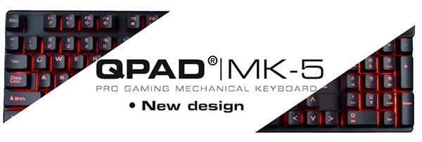 QPAD MK-5 : un nouveau clavier mécanique pour gamers