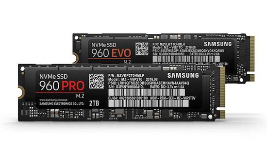 Samsung lance deux nouveaux SSD : le 960 PRO et le 960 EVO (maj)