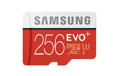 Samsung lance une micro SDXC de 256 Go