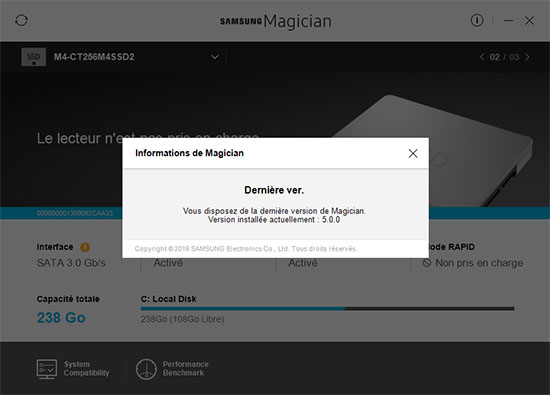 Le programme Magician de Samsung est disponible en version 5.0.0