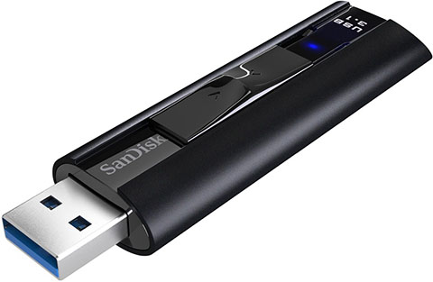 Vente flash : la clé USB 3.1 SanDisk Extreme Pro de 128 Go à 51 euros