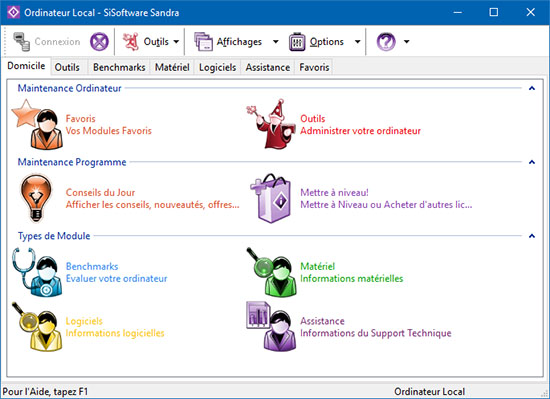 SiSoftware sort la version 2017.12.24.61 (SP4) de Sandra 2017