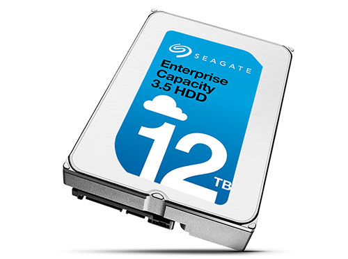 Le disque dur Enterprise Capacity 12 To de Seagate est enfin disponible