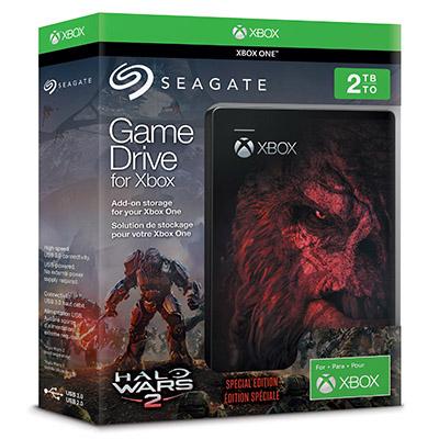 Un disque dur de 2 To aux couleurs de Halo Wars 2 chez Seagate