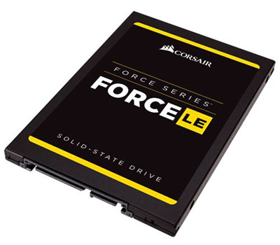 Vente flash : les SSD Corsair Force LE200 à 67€ (120Go), 79€ (240Go) et 139€ (480Go)