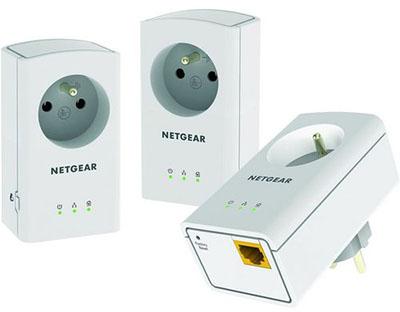Soldes : 42€ le pack de 3 CPL Netgear XAVT5421