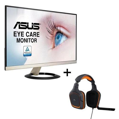 Soldes : un écran 23″ ASUS + un casque Logitech G231 pour 159,99 euros