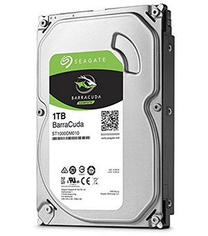 Bon Plan : 39 euros le disque dur Seagate Barracuda 1 To
