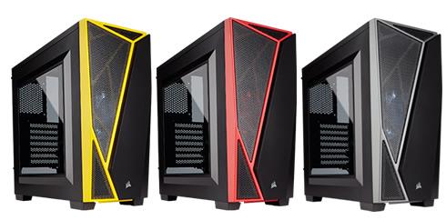 Corsair propose un nouveau boitier pour les gamers : le Carbide SPEC-04