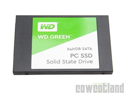CowCotland teste le SSD WD Green de 240 Go