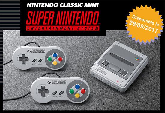 Nintendo promet des SuperNES Mini en quantité le 29 septembre et le retour de la Nes Mini l'an prochain
