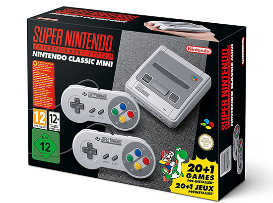 Bon Plan : la SNES Mini Classic à 74,90€ sur Amazon.fr