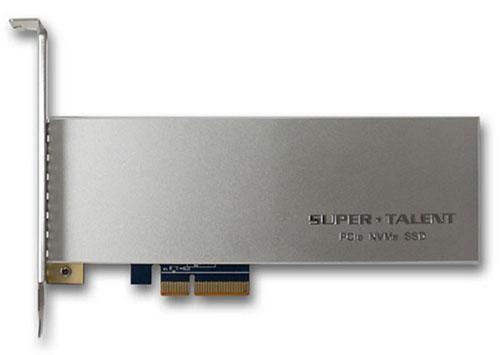SuperTalent lance le SuperCache AIC34 : un SSD performant pour serveurs