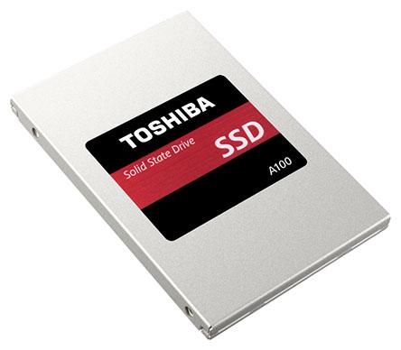 Toshiba présente le A100 : un SSD d'entrée de gamme en mémoire TLC