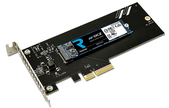 Toshiba officialise le SSD RevoDrive 400 au format PCI Express