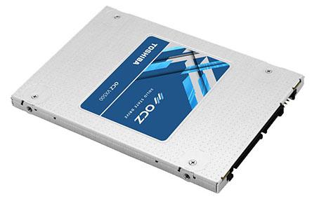 Le SSD VX500 de Toshiba est déjà testé par CowCotland