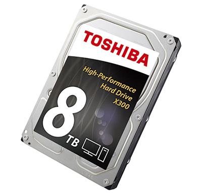 Toshiba ajoute un modèle 8 To à sa gamme de disques durs X300