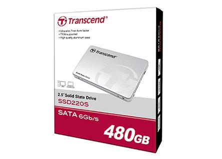 Soldes : les SSD Transcend 220S à prix cassés : 64€ (240 Go) et 119€ (480 Go)