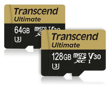 Une nouvelle gamme de cartes microSDXC chez Transcend : les U3M !
