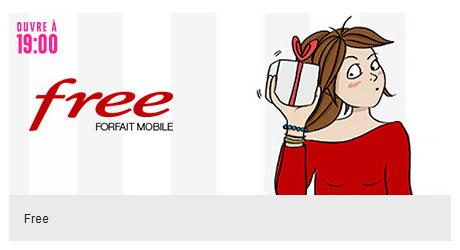 Bon Plan : une vente privée FreeMobile ce soir à 19 heures