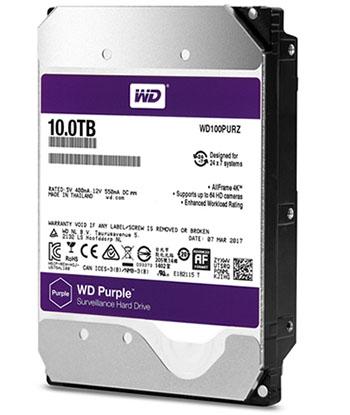 Le WD Purple offre maintenant 10 To de stockage